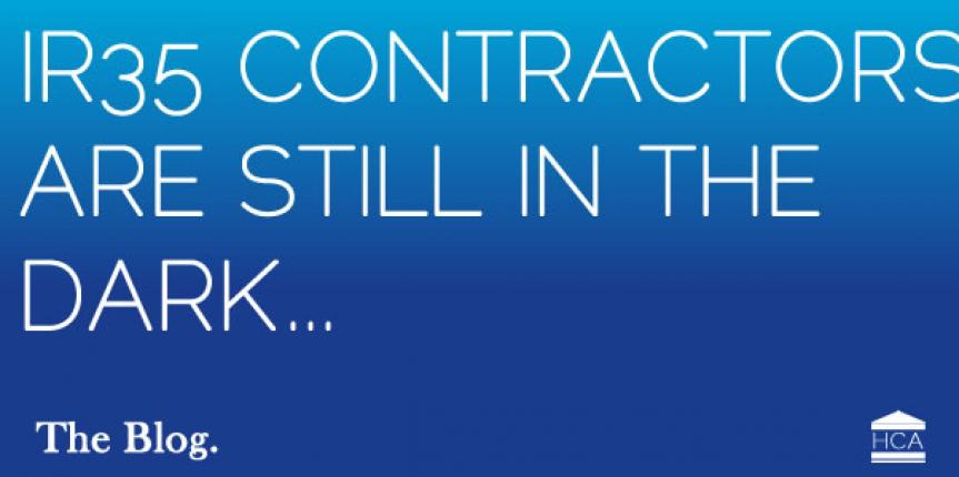 IR35 Contractors still in the dark…